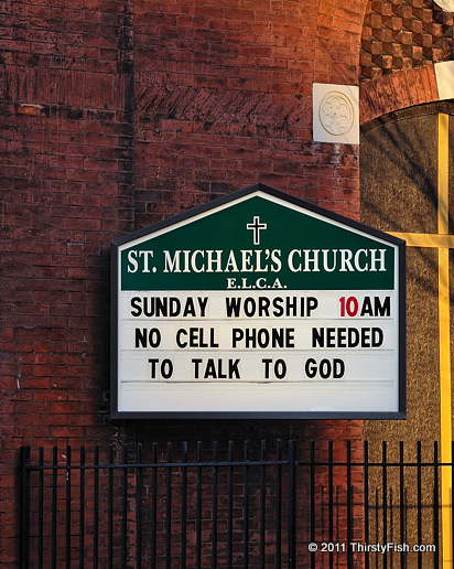 No Cell Phone Needed To Talk to God