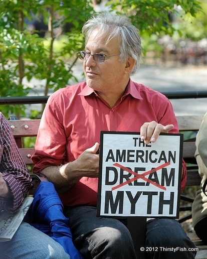 the myth of the american dream The american dream is a national ethos of the united states, the set of ideals (democracy the american success myth on film.